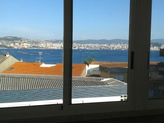 Charming Attic with view to the Bay of Vigo