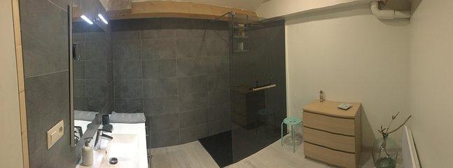 Bathroom master shower - completely new in April 2017