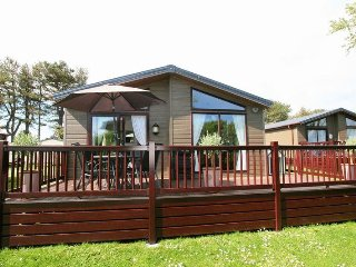 Driftwood Lodge, with sea view, Landscove Holiday Village Brixham