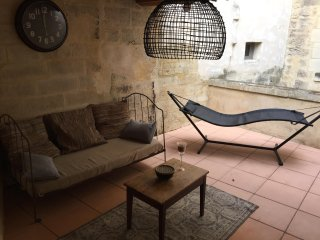 apparterrasse en centre d Uzes