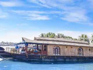 Gorgeous 1-BR houseboat for a small group