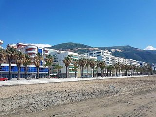 Spacious apartment in Vlora Beach