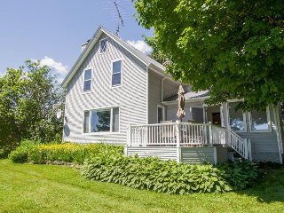 Lake Champlain home w/ lakefront views, large yard, and plenty of peace & quiet!