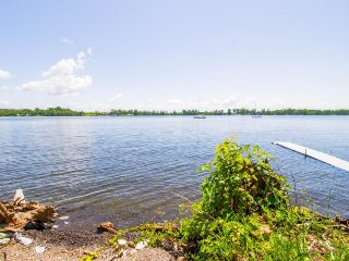 Dog-friendly, waterfront home w/ views, yard, and plenty of peace & quiet!