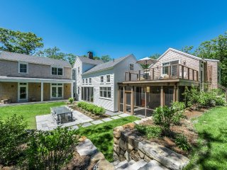 ROSSP - Lambert's Cove,  New Chic Contemporary Home, Privately Situated on