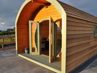 Hebrides Bothy - new glamping pod with coastal views near Stornoway