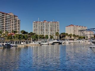 3 bedroom, 3 bathroom condo overlooking waterway at Yacht Club Villas