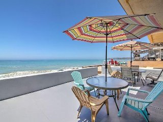 Stunning 3BR Beachfront! Private Ocean Access, Near San Clemente & Dana Point