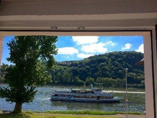 'Haus am Ufer' Edles Loft mit Rheinpanoramablick