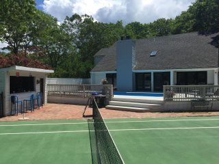 Great Hamptons Summerhouse with Pool and Tennis
