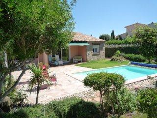 villa tout confort-piscine privée -calme_détente assuré -linge et draps fournis
