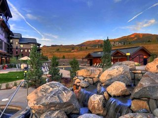 Enjoy snow-topped Steamboat Springs Resort!