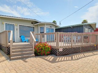 Cozy oceanview home just moments from the beach, perfect for families!