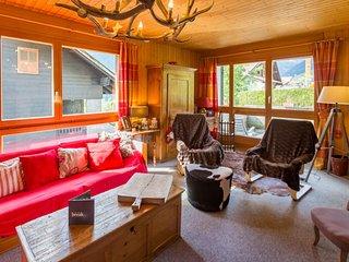 Chalet familial cosy au centre de Champery, Alpes