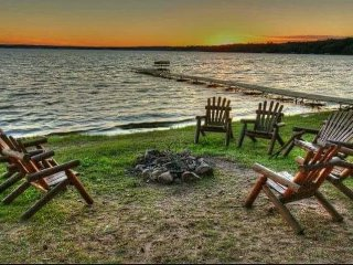 St. Germain WI , 3 bedroom lake cabin,   Big St. Germain Lake