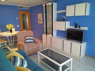 Acogedor apartamento en zona residencial cerca de la playa