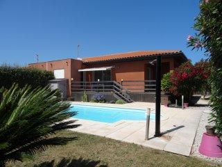 Maison a Torreilles Plage avec piscine