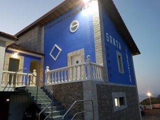 Nuevos apartamentos vacacionales en Cantabria, Su nombre 'Santa Justa'.