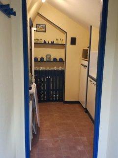 Chambre bleue (kitchenette séparée)