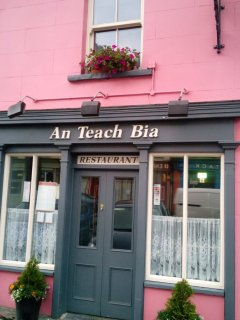 An Teach-Bia Restaurant Locally produced Food
