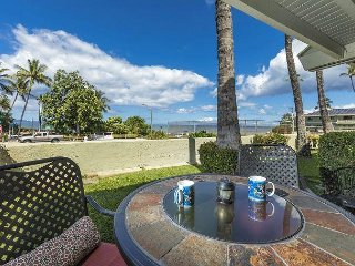 Shores of Maui #124 Ocean View, Ground Floor, End Unit, 1bd/1ba, Sleeps 4-5