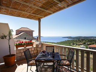 Apartments Villa Meskal - One Bedroom Apartment with Terrace and Sea View
