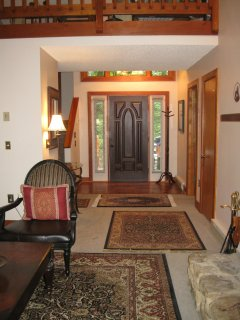 Main floor entry way