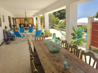 Villa mallorquina para 12 a cinco minutos a pie de la playa