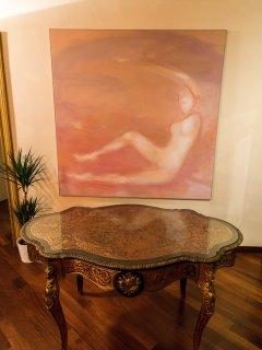 Salone ed opere d'arte