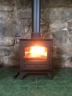 We have recently added a wood burning stove for those romantic nights in.