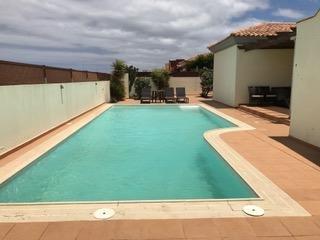 3 bedroom villa with large heated pool