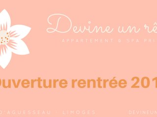Devine un rêve : Appart-Hôtel Spa privatif : Sauna et Jacuzzi