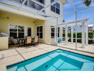Dog-friendly home with ocean view, private pool, shared hot tub - close to beach