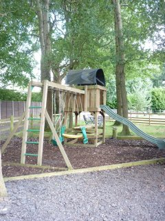 Let your children have fun in the activity area.