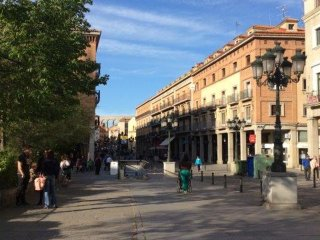 Apartment with 4 rooms in Segovia, with wonderful city view and WiFi