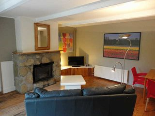 Cozy apartment for 3 persons with fireplace in a beautifully located chalet.