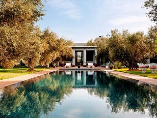 Villa with 4 rooms in Marrakech, with private pool, terrace and WiFi