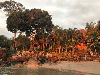 Ecolodge Dona Vera maison sur la plage