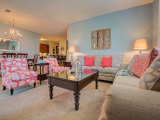 Newly updated unit sleeps 10 and boasts an elegant coastal theme!