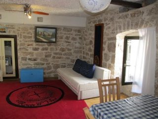 Apartment with one room in betina, with furnished terrace and wifi