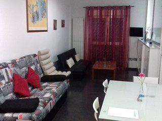 Apartamento 1F - Dos camas individuales más dos sofás-cama de AT los Ángeles