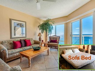 Gorgeous 2BR/2BA Emerald Isle Gulf Front Condo on 16th Floor