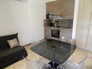 Apartment with one bedroom in Coggia, with WiFi - 200 m from the beach