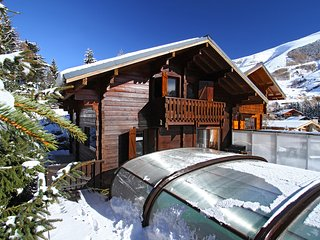 Chalet with wonderful mountain view