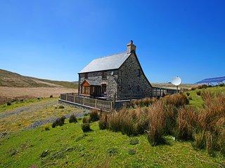 Remote cottage near Aberystwyth. Ty ar y Mynydd: 492516