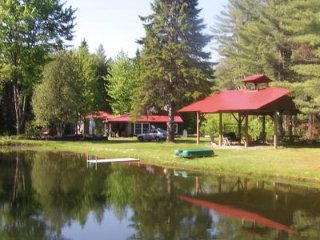 4 Season Camp in  Brownville, Maine with pond located near Schoodic Lake