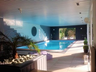 Country house in Guipry with pool