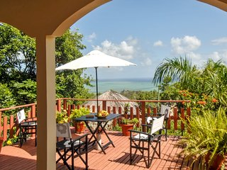 Charming villa on the Island of Rodrigues, with garden and ocean views