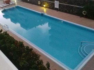 Apartment with 2 bedrooms in Palm-Mar, with pool access, balcony and WiFi