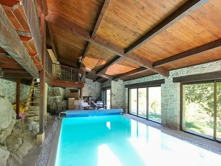 Luxury villa in the ardeche with 3 bedrooms, terrace, pool & panoramic views